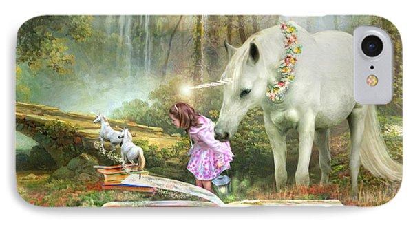 The Unicorn Book Of Magic IPhone Case