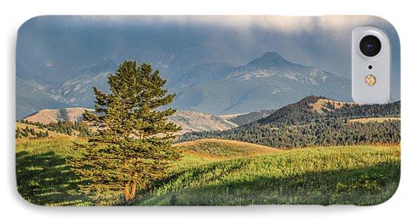 #0613 - Absaroka Range, Paradise Valley, Southwest Montana IPhone Case