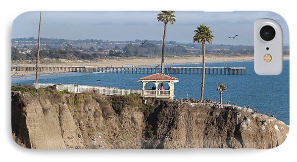 Pismo Beach Gazebo And Pier IPhone Case