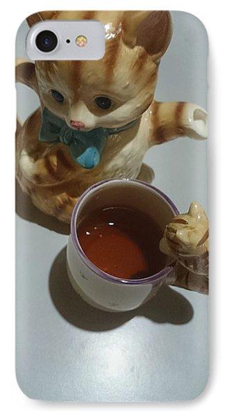 Koneko Means A Kitten IPhone Case