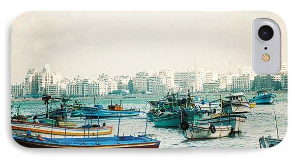 Alexandrian Harbour IPhone Case