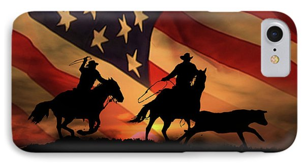 new concept 72eaf cd342 Team Roping iPhone 8 Cases | Fine Art America