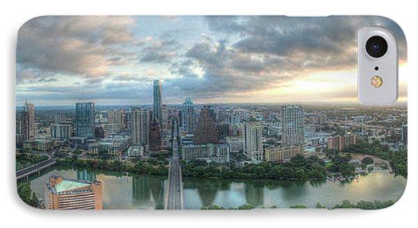 Austin Cityscape IPhone Case