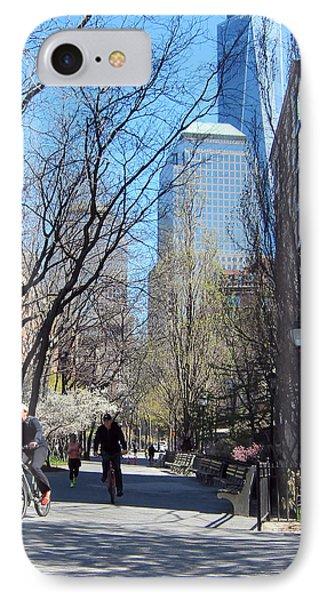 Battery Park City Ny IPhone Case