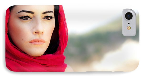 Beautiful Arabic Woman IPhone Case