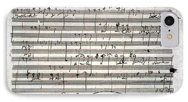 Beethoven Manuscript IPhone Case