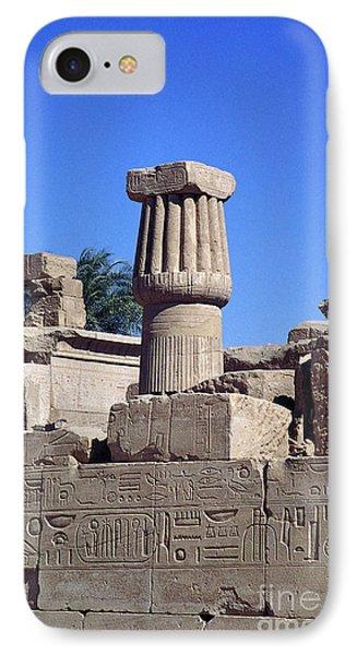Belief In The Hereafter - Luxor Karnak Temple IPhone Case
