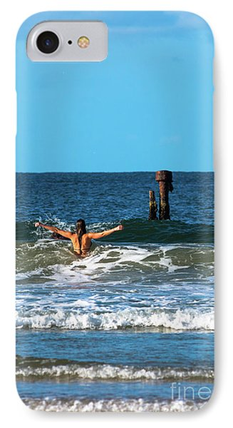 Belongil Beach IPhone Case