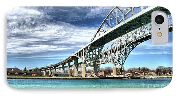 Blue Water Bridge IPhone Case