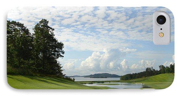 Bro Hof Slott Golf Club Sweden IPhone Case