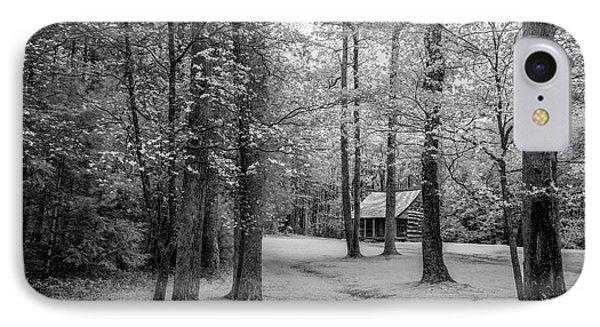 Cabin In Cades Cove IPhone Case