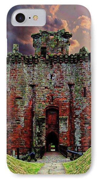 Caerlaverock Castle IPhone Case