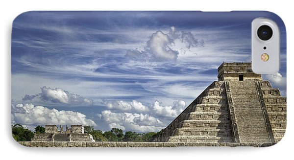 Chichen Itza, El Castillo Pyramid IPhone Case