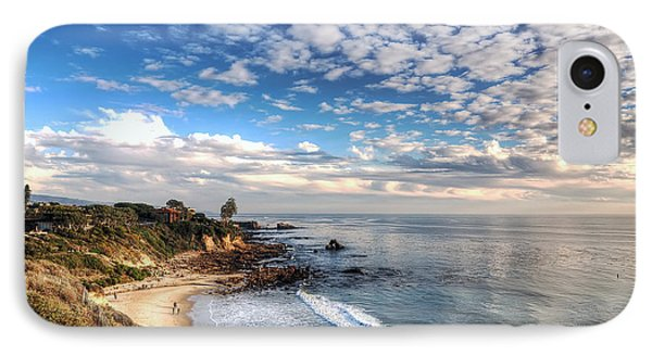Corona Del Mar Shoreline IPhone Case