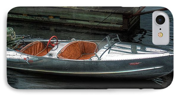Cute Boat - 1948 Feather Craft IPhone Case