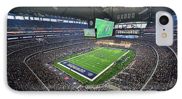 Dallas Cowboys Att Stadium IPhone Case