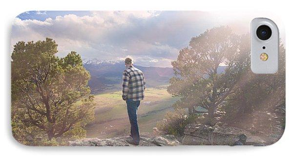 Deep In Thought. Ridgeway, Colorado IPhone Case