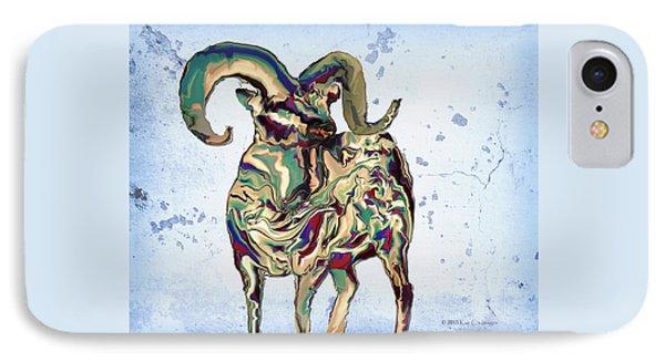 Digital Bighorn Ram IPhone Case