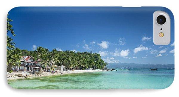 Diniwid Beach In Tropical Paradise Boracay Philippines IPhone Case