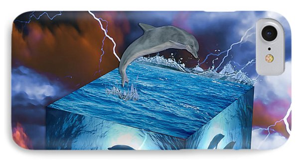Dolphin Art IPhone Case