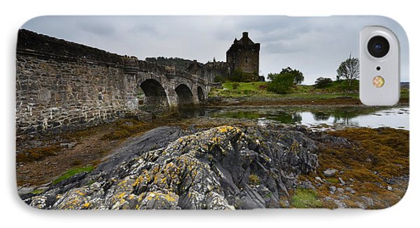 Castle iPhone 8 Case - Eilean Donan Castle by Smart Aviation