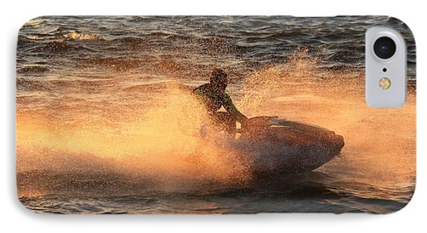 Extreme Jet Ski IPhone Case