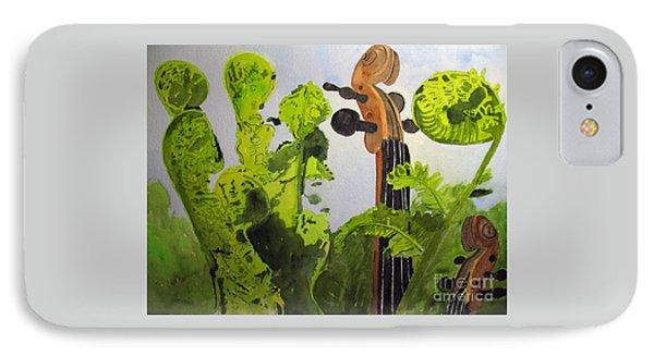 Fiddleheads IPhone Case