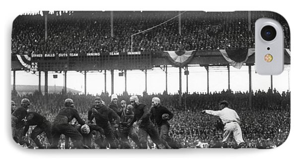 Football Game, 1925 IPhone Case