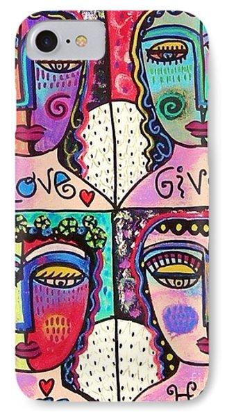 Four Gemstone Angels  IPhone Case