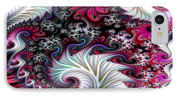 Fractal Pinks IPhone Case