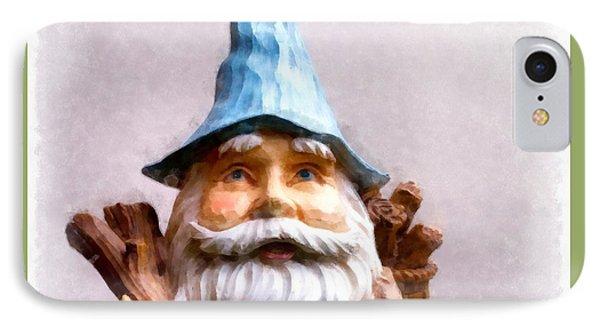 Elf iPhone 8 Case - Garden Gnome by Edward Fielding