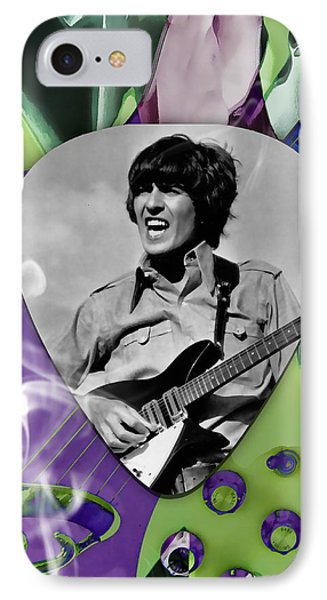 George Harrison The Beatles Art IPhone Case