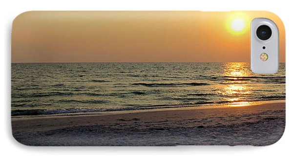 Golden Setting Sun IPhone Case