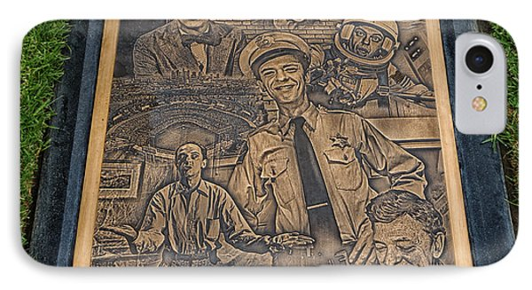 Gravesite Of Don Knotts - Westwood Cemetery IPhone Case