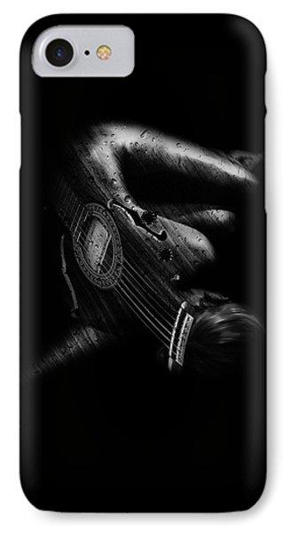 Guitar Woman IPhone Case
