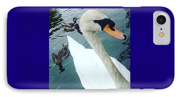 Hakucho Means Swan  IPhone Case