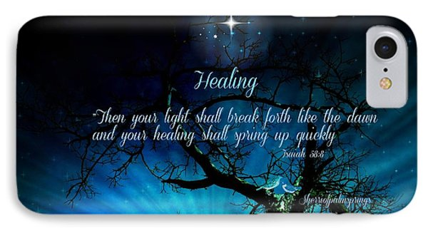 Healing Art By Sherri Of Palm Springs IPhone Case