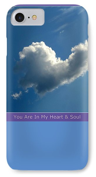 Heart Cloud Sedona IPhone Case
