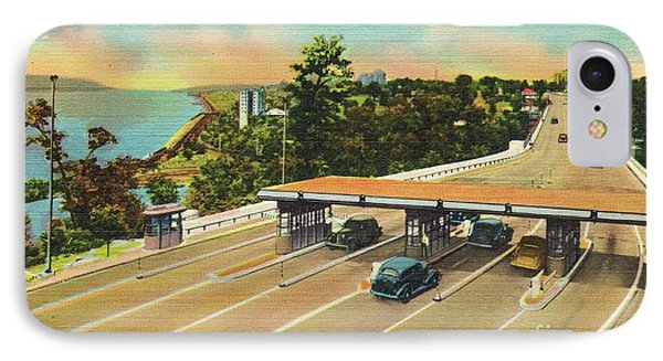 Henry Hudson Bridge Postcard  IPhone Case