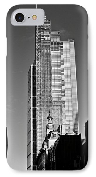 Heron Tower London Black And White IPhone Case