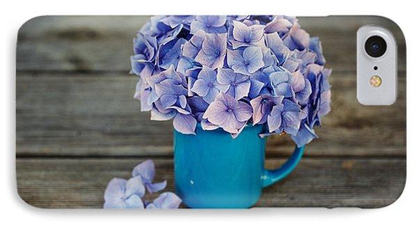 Hortensia Flowers IPhone Case
