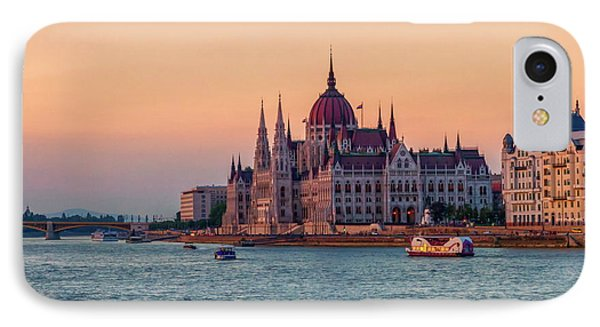 Hungarian Parliament Building In Budapest, Hungary IPhone Case