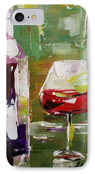 In Vino Veritas. Wine Collection IPhone Case