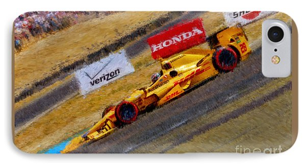 Indy Car's Ryan Hunter-reay IPhone Case