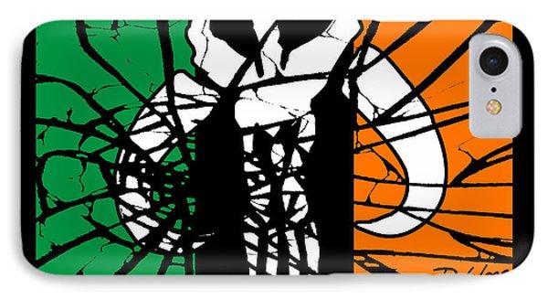 Irish Mandalorian Flag IPhone Case