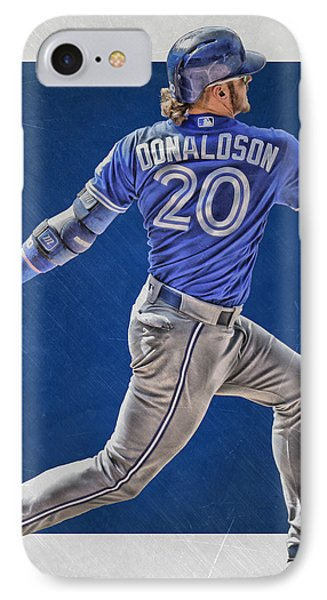 Josh Donaldson Toronto Blue Jays Art IPhone Case