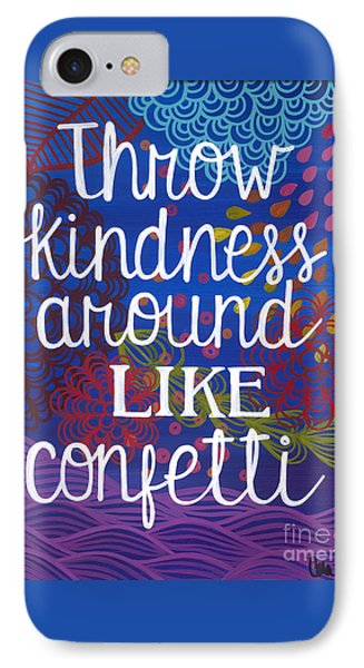 IPhone Case featuring the painting Kindness by Carla Bank