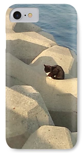Koneko Means A Kitten. IPhone Case