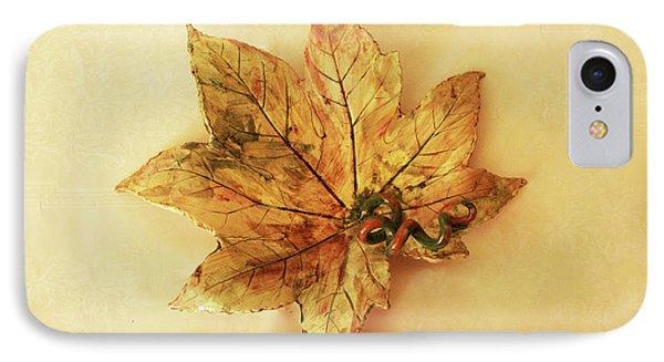 Leaf Plate1 IPhone Case
