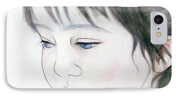 Manazashi Or Gazing Eyes IPhone Case